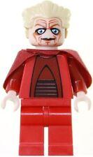 STAR WARS LEGO CHANCELLOR PALPATINE MINIFIGUR MIT ROTEN LICHTSCHWERT