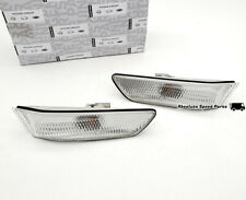 NEW OEM Infiniti G35 Coupe Clear Front Corner Side Marker Lamps B61F0-CM40A