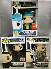 OLENNA, LYANNA & JAQEN Funko Pop! Comic Con Exclusives SDCC NYCC Game of Thrones