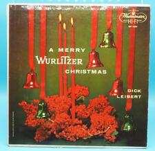 Vintage Dick Leibert A Merry Wurlitzer Christmas Vinyl LP