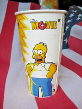 2007 THE SIMPSONS MOVIE BURGER KING CUP: HOMER & ALIENS
