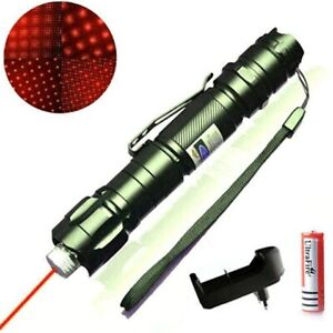 900Miles Strong Red Laser Pointer Rechargeable High Intensity Beam Laser 1mW