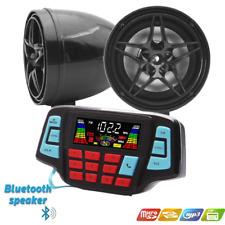 12V Motorcycle Waterproof Audio FM Radio Stereo Bluetooth Speaker