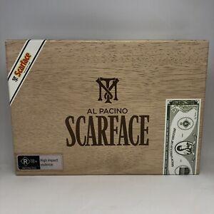 SCARFACE CIGAR CASE Blu-ray Region B RARE COLLECTORS EDITION Very Good Condition