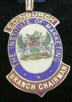 Silver & Enamel Medal, The Institute of Marketing, Edinburgh Branch Chairman