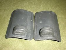 VW Beetle Convertible Pair of Sliding Floor Heat Vents-113 255 861/2 A-Used
