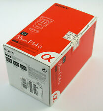 SONY SAL35F14G 1,4/35 35mm F1,4 G Alpha BRAND-NEU brand NEW