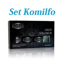 Set 4 Komilfo Gel Nail Polish Nail Top, Base, Ultrabond, Gel Coat Komilfo Deluxe
