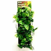 Penn Plax 24 Inch Reptile Hanging Vine Green. **Free Shipping**
