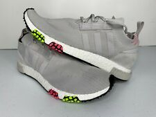 NEW Size 13 Adidas Originals NMD Racer PK Grey Solar Pink CQ2443 Men's Shoes