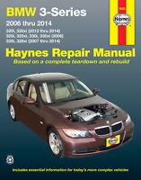 BMW 3 Series E90, E91, E92, E93 2006-2014 Repair Manual