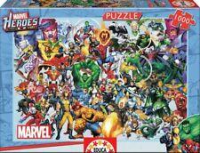 MARVEL HEROES Jigsaw PUZZLE 1000 pieces HULK Spiderman IRON MAN Captain America