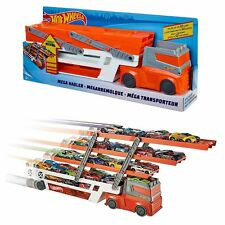 Hot Wheels Toy Mega Hauler 50th Anniversary Car Vehicle Transporter NEW BOXED