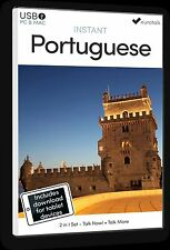 Eurotalk instantané Portuguese- 2 Produit Ensemble - USB et Talk Now tablette