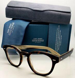 New CARY GRANT OLIVER PEOPLES Eyeglasses OV 5413U 1666 48-22 362 Horn Frames