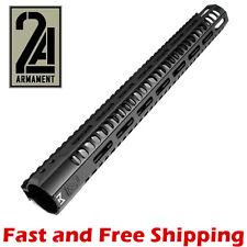 """2A Armament 15"""" SR M-LOK Rail System / Free-Float Handguard w/ Aluminum Nut"""