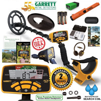 Garrett Ace 300 Metal Detector Special w/ Pro Pointer AT, Keeper Finds Box, Book