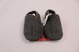 Dearfoams Men's Sam Memory Foam Clog Slippers MP7 Black Size US: XL Wide (13-14)
