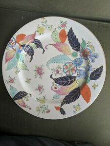 ORIENTAL STYLE LARGE PLATE TOBACCO LEAF