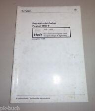 Werkstatthandbuch VW Passat Diesel Direkt Einspritz Vorglühanlage 6 Zyl. 11/1999