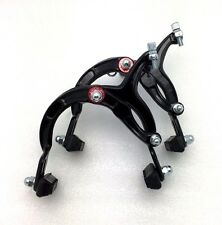 BICYCLE BIKE ALUMINUM SIDE PULL BRAKE CALIPER BLACK NEW