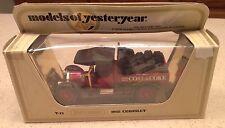 1978 lesney matchbox models of yesteryear 1918 crossley coal & coke NIB 47:1