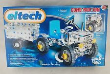 EiTech Construction Metal Building Model Kit Toy Tractor Trailer Pull Push C8
