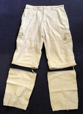 ANIMAL 3/4 CARGO SHORTS WITH ATTACHABLE TROUSER PARTS SIZE L W34/35 NEW RRP £59