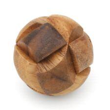 Mini Ball Fußball Puzzle - Soccer Ball Würfel Holz Puzzle Knobel IQ-Spiel