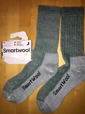 SmartWool HIKE Midweight Crew Socks –Evergreen, Outdoor Backpack Camp –Women MED