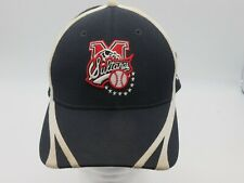 LMB Sultanes de Monterrey Mexico Baseball Black Cap Fitted S/M Dirty Distressed