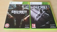 Call of Duty Black Ops & Black Ops 2 Xbox 360 games with zombie mode