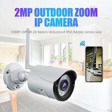 Bullet Outdoor Security IP 1080P Wireless Wifi IR Night Vision Network Camera