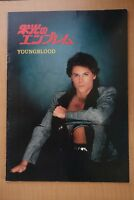 Youngblood Japanese Movie Program Pamphlet  1986