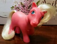 My Little Pony MLP G1 VTG 1984 UK Euro Exclusive SNOWFLAKE