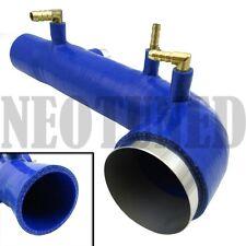 REV9 BLUE 02-07 / WRX 04-13 STI EJ20 EJ25 TURBO INLET SILICONE DIRECT BOLT ON