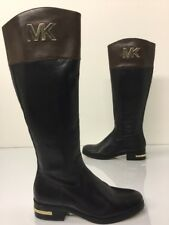 Michael Kors Boots Hayley Riding Knee High  Leather. Size Shoe Left 4.5, Right 4