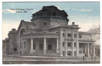 Vintage Postcard First Christian Church Fulton Missouri  J21A