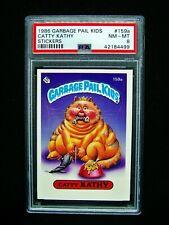 GARBAGE PAIL KIDS - 1986 4th Series #159a Catty Kathy - OS4 - Graded PSA 8 NM/MT