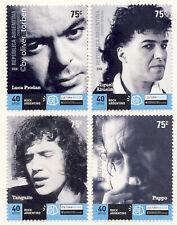 ARGENTINIEN Argentina 3099-3102 ** Satz ROCKMUSIK Musiker Rock 'n' Roll Musik