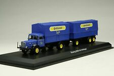Schuco 1:43 / Continental Tires Buessing 8000 Land-Train Truck / # SHU03043