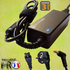 19V 2.1A 40w Chargeur Pour ACER TravelMate B115 / P245 / P246 / P255 / P256