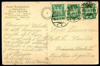 GERMANY TO ARGENTINA, OKEN Cancel on Circulated Postcard 1926