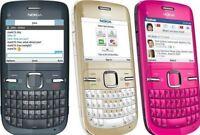 New Condition Nokia C3-00 c3 (Unlocked) Mobile phone boxed