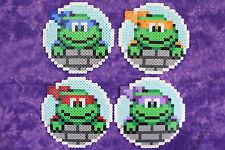 TMNT - Old School Teenage Mutant Ninja Turtles Coaster set of 4