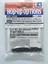 Tamiya 54636 TT-02 Type-S Acier Suspension Ensemble De Montage Devant TT02S/