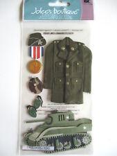Jolee's Boutique Pegatinas-Tanque de soldado del ejército