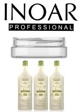INOAR ARGAN BRAZILIAN KERATIN TREATMENT BLOW DRY HAIR STRAIGHTENING KIT 150ML