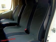 Peugeot Partner (08 on) GREY MotorSport VAN Seat COVERS - Single + Double