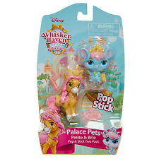 Whisker Haven Tales Palace Pets Pop and Stick 2 Pack - Petite and Brie *NEW*